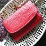 クロコ財布 バッグから出したときテーブルシーンにあかぬけた雰囲気をもたらしてくれるでしょう。より「クロコスタンプ」を強調するデザインです